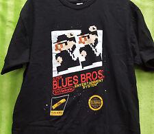 8 Bit Retro Gaming Super Blues Bros Entertainment System - T Shirt M - Tee Fury