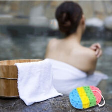 Sponge Massage Multi Bath Shower Exfoliating Body Cleaning Scrubber Cleaning Lin