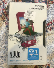 Lifeproof Nuud Waterproof Dust Proof Life Case for iPhone 7 - Plum / Clear