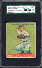 1933 Canadian Goudey World Wide Gum #84 Moe Berg SGC 40 -- Moe Berg's Collection