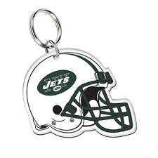 New York Jets Wincraft NFL Acrylic Helmet Key Ring FREE SHIP!!
