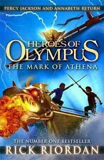Rick Riordan - Percy Jackson Story - HEROES OF OLYMPUS: THE MARK OF ATHENA - NEW