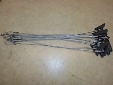 """12 Earth Anchors W/ 18"""" 3/32nd Cable Stakes Unplugged Traps Trapping Coyote"""