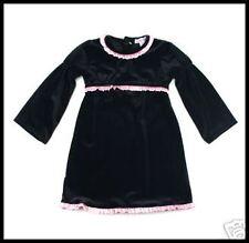 Baby Nay CANDY CANE Black Velvet Holiday dress 18 m NEW Winter