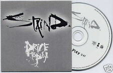 STAIND Price To Play UK 2003 1-track promo CD