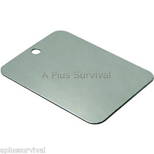 Un-Breakable Mirror Rescue Flashing Signal Emergency Camping Survival Kits