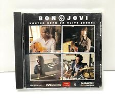 """""""WANTED - DEAD OR ALIVE"""" - MUSIC CD - BON JOVI - 2003 CVS & Duracell 2 Song CD"""