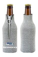 Seattle Seahawks Glitter Bottle Coozie - Kolder Kaddy Holder Koozie Bling Drink