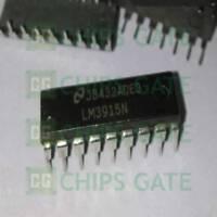 15PCS LM3915N LM3915N-1 LM3915 LED Bar Dot Display Driver 3915 DIP