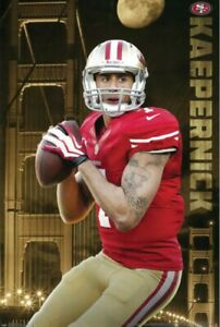 Colin Kaepernick San Francisco 49ers Poster 24x36 - NFL Football Wall Art Print