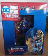 DC Comics Super Héroe Figura Colección Cyborg Superman-EAGLEMOSS