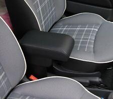 Bracciolo per FIAT 500 regolabile lunghezza  ecopelle NERO anche resyling 2016