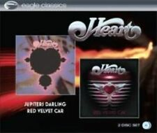 Heart Jupiters Darling & Red Velvet Car 2x Audio CD Eagle Records