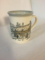 Biltons Coffee Tea  Mug Coffee Cup Made In England Vintage House Person