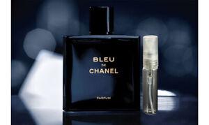 CHANEL BLEU DE CHANEL PARFUM MENS COLOGNE FRAGRANCE MINI TRAVEL SIZE 5 ml.