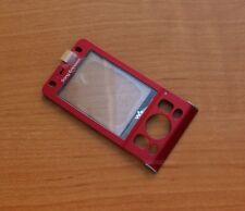 ORIGINALE Sony Ericsson w910i front cover (NUOVO, ROSSO, 1202-9829)