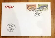 Iceland Post Official Illustrated FDC 2001.01.18. Fishes Halibut & Saithe