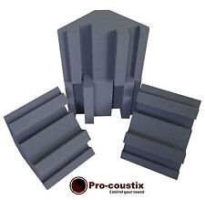 Genuine Pro-coustix Ultraflex High Performing Bass Traps 300mm x4 Traps
