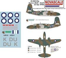 RAAF Boston MkIII Mini-Set Decals 1/48 Scale N48019a