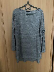Zara Grey Tunic Size L