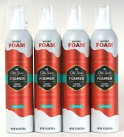 4 Count Old Spice 10.3 Oz Foamer Pure Sport Instant Thick Rich Foaming Body Wash