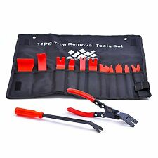 13 Pcs Nylon Trim Removal Set with Clip Pliers and Fastener Removers Tools Kit