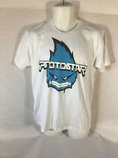 Men's White American Apparel PSOTOSTAR graphic T-shirt Size Medium