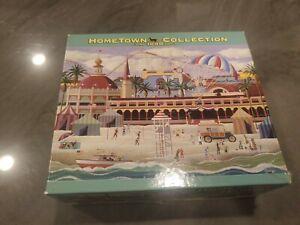 Hometown Collection Santa Cruz Holiday Heronim Wysocki 1000 PC Complete Puzzle
