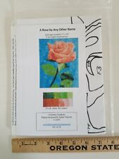 Art Quilt A Rose by Any Other Name Applique Quilt Pattern by Colorado Creations
