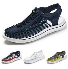 Shoes Men Sneaker Mesh Running Walking Trail Sandals Woven Comfort Sports flats