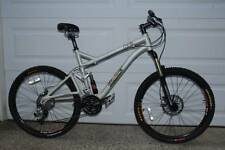 Iron Horse MKIII Dual Suspension Mountain Bike Silver 19 frame 26 wheel