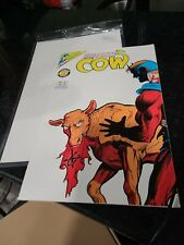 Nec Man Eating Cow Comic Book #8 - January 1994 - Tick Spin-off - Rare