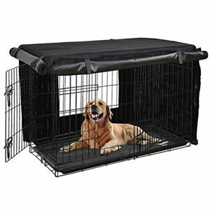 HONEST OUTFITTERS Dog Crate Cover 36 Inch Dog Kennel Cover for Medium Dog, Heavy