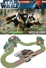 Star Wars Scalextric Battle Of Endor 1:32 Scale Slot Race Set Brand New