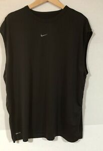 Nike Center Middle Swoosh Embroidered Sleveless Tank Top