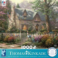 CEACO THOMAS KINKADE JIGSAW PUZZLE LIBERTY LANE COTTAGE 1000 PCS #3310-69