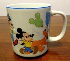 Vintage Disneyland Souvenir Mug Mickey & Friends Parade Japan Walt Disney Co.