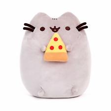 GUND Pusheen The Cat With Pizza Soft Kitten Plush Stuffed Animal Toy 24cm