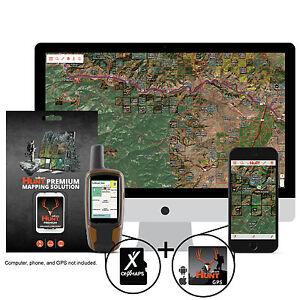 OnXmap Hunt MONTANA Prem. Map for Garmin GPS | Hunting GPS Maps | MicroSD Card