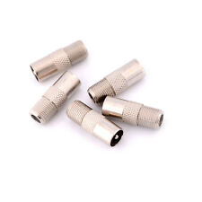 5pcs F Typ Female Stecker auf RF Coax Antenne Stecker Adapter TV Converter FY