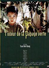 Affiche 40x60cm L'ODEUR DE LA PAPAYE VERTE (MÙI DU DU XANH) 1992 Tran Anh Hung