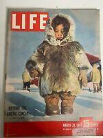 Life Magazine March 24 1947 Ingrid Bergman Christian Dior Ben Hogan