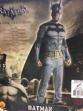 Mans Nuevo Tamaño Pequeño Arkham Batman Traje Disfraz Elaborado Vestido Juegos con disfraces Larp