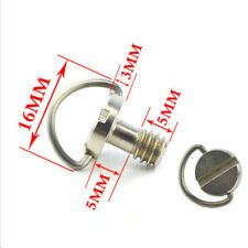 1/4 Screw With C Ring For Camera Tripod Monopod Quick Release Plate RAHXN