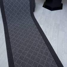 Tapis Tim Crète anthracite 67 cm de largeur antidérapant, moderne et stable