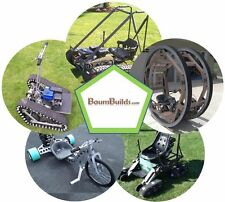 Personal Track Veh, Drift Trike, Magic Carpet, Mantis, and Dicycle 5-PACK plans