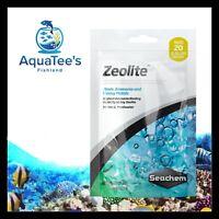 Seachem Zeolite Bag 100ml Bagged Absorbs Ammonia Heavy Metals Filter Fish Tank