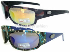 Occhiali da sole da uomo con lenti in multicolore con montatura in multicolore 100% UV