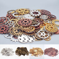 100g Pieces Old STEAMPUNK Pocket Wrist WATCH PARTS Gears Cogs Wheels Movements