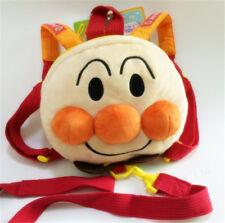 Kids Anime Cartoon Anpanman Short Plush School Shoulder Backpack Bags Gift